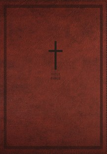 NKJV Deluxe Thinline Reference Bible Red Letter Edition [Large Print, Red] by Thomas Nelson (9780785217985) - PaperBack - Religion & Spirituality Christianity