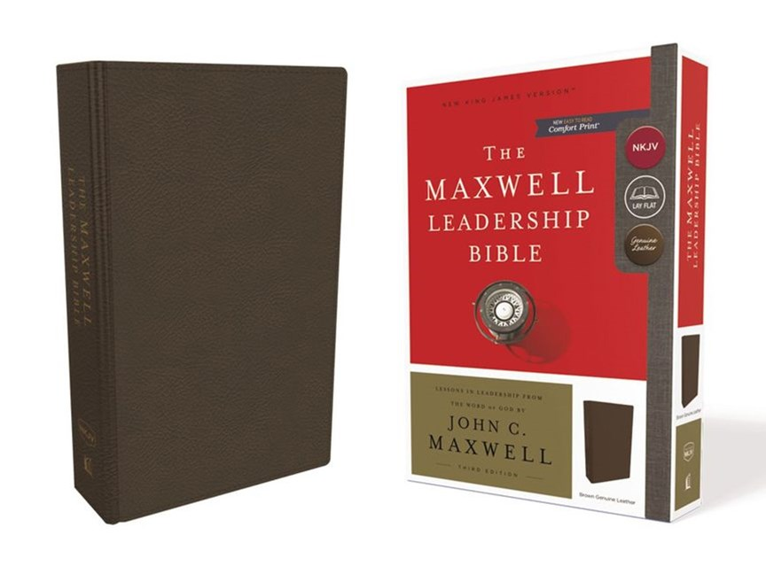NKJV Maxwell Leadership Bible [Third Edition, Brown]