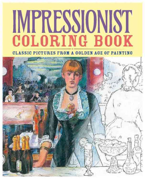 Impressionist Coloring Book