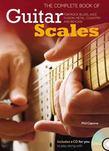 The Complete Book of Guitar Scales by Phil Capone (9780785833772) - HardCover - Entertainment Music Technique