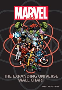 Marvel: The Expanding Universe Wall Chart by Michael Mallory, Mike O'sullivan, Jeff Christiansen (9780785835448) - HardCover - Graphic Novels Comics