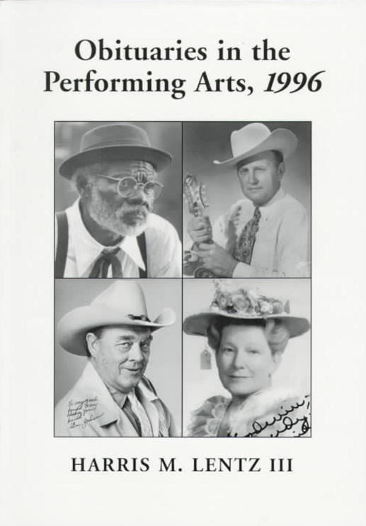 Obituaries in the Performing Arts 1996