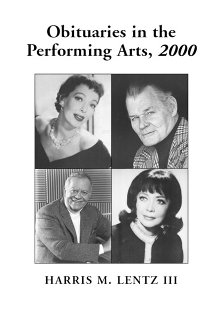 Obituaries in the Performing Arts, 2000
