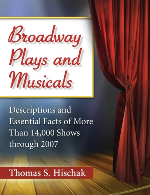 (ebook) Broadway Plays and Musicals