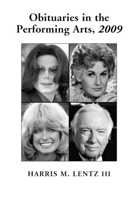 Obituaries in the Performing Arts, 2009