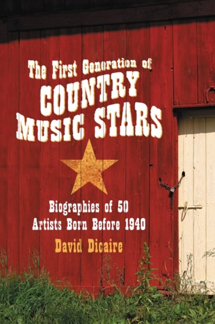 (ebook) First Generation of Country Music Stars