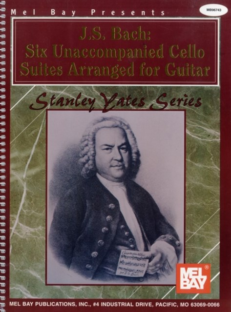 J S BACH SIX UNACCOMPANIED CELLO SUIT