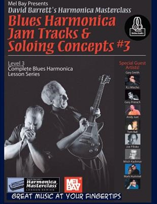 Blues Harmonica Jam Tracks and Soloing Concepts #3