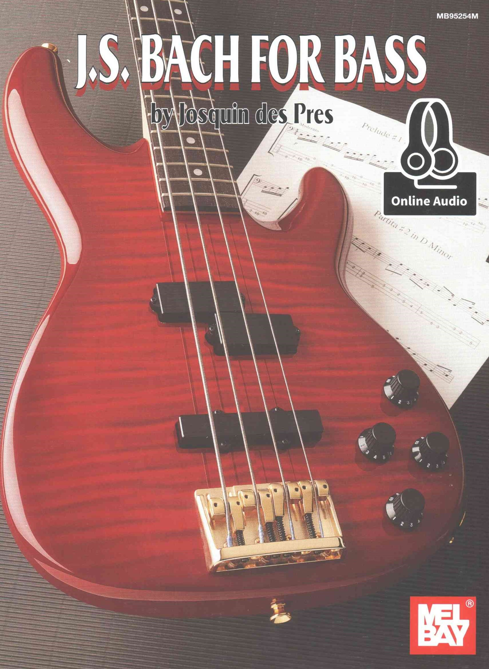 BACH J S FOR ELECTRIC BASS BS AUD