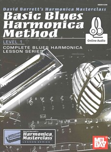 Basic Blues Harmonica Method Level 1 by David Barrett (9780786689149) - PaperBack - Entertainment Music General