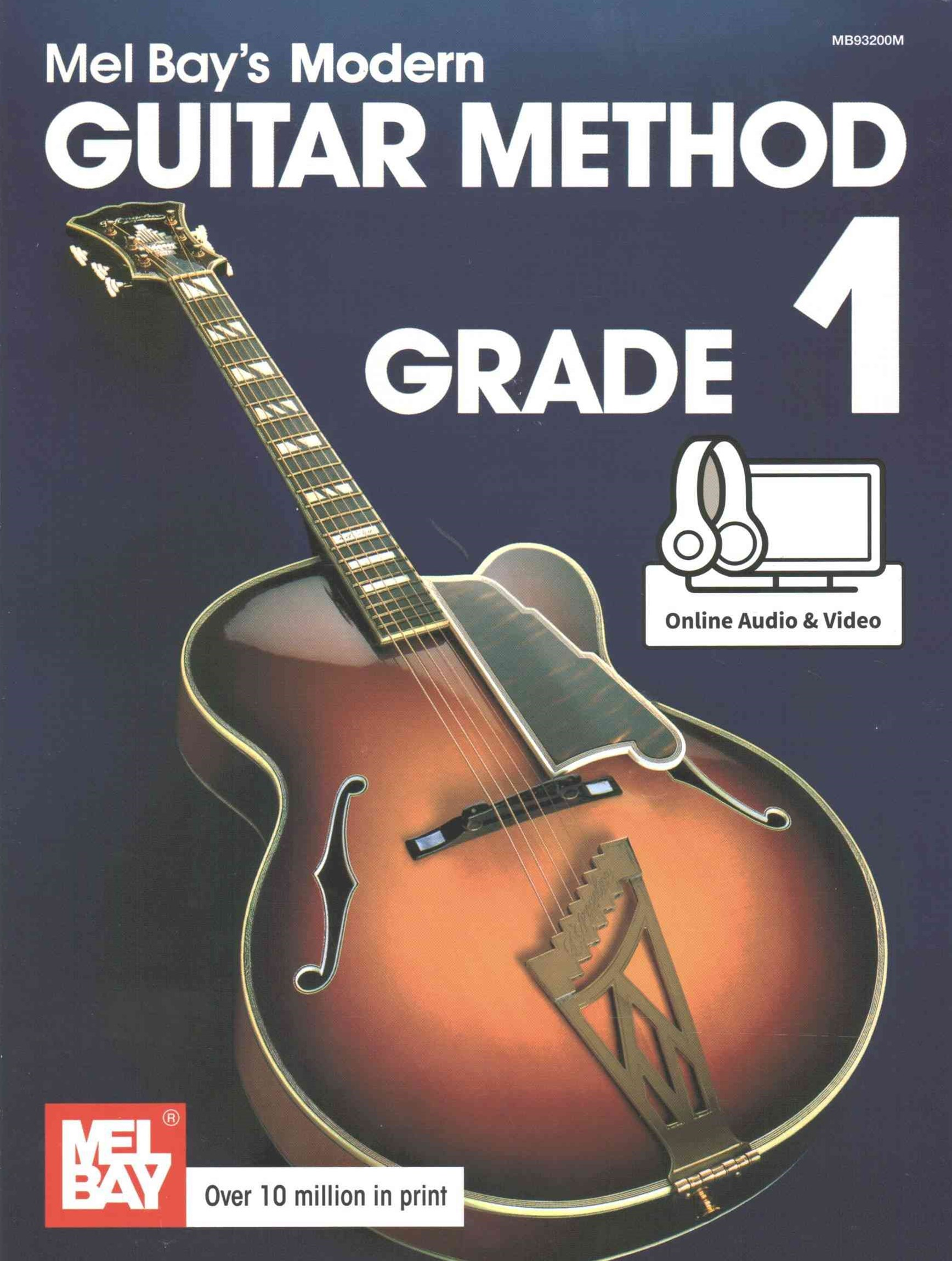 MEL BAYS MODERN GUITAR METHOD GRADE 1