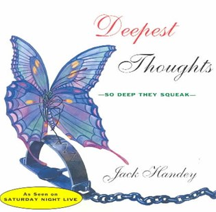 Deepest Thoughts by Jack Handey (9780786880447) - PaperBack - Humour General Humour