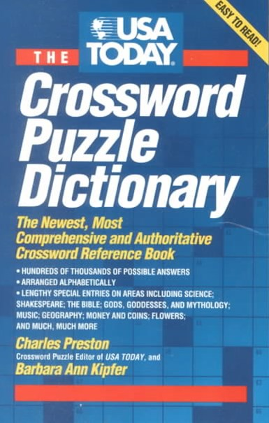 The USA Today Crossword Puzzle Dictionary