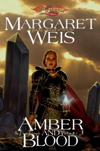 Amber And Blood by Margaret Weis (9780786950669) - PaperBack - Fantasy
