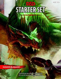 Dungeons & Dragons Starter Box by  (9780786965595) - Game - Craft & Hobbies Puzzles & Games