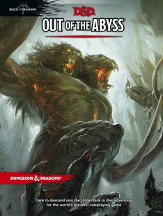 Out of the Abyss by Wizards RPG Team, Christopher Perkins, Tom Cadorette (9780786965816) - HardCover - Craft & Hobbies Puzzles & Games