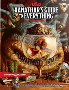 Xanathar's Guide to Everything by Wizards of the Coast LLC (9780786966110) - HardCover - Craft & Hobbies Toys