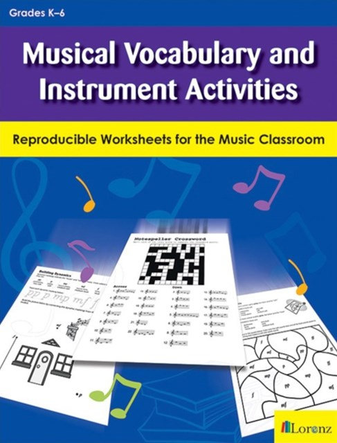 (ebook) Musical Vocabulary and Instrument Activities