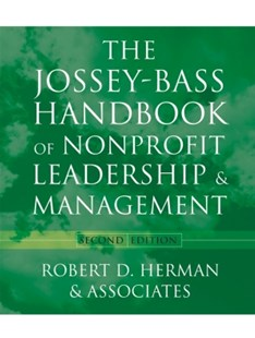 (ebook) The Jossey-Bass Handbook of Nonprofit Leadership and Management - Business & Finance Organisation & Operations