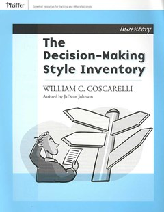 Decision-Making Style Inventory by William C. Coscarelli, William C. C. Coscarelli, William C. Coscarelli, JaDean Johnson (9780787988395) - PaperBack - Business & Finance Management & Leadership