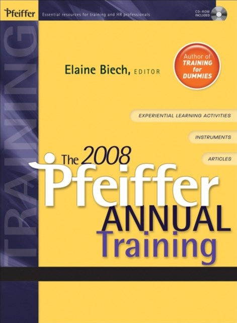 The Pfeiffer Annual: Training