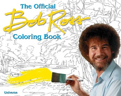 Bob Ross Coloring Book by Bob Ross (9780789327727) - PaperBack - Craft & Hobbies