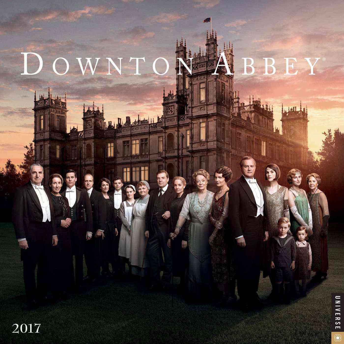 Downton Abbey 2017 Calendar