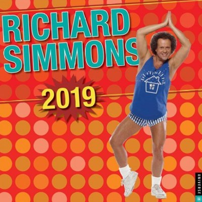 Richard Simmons 2019 Calendar