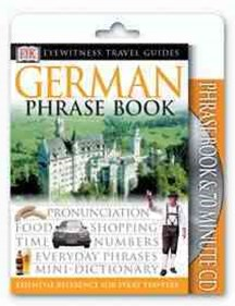 German: Eyewitness Travel Phrase Book & CD
