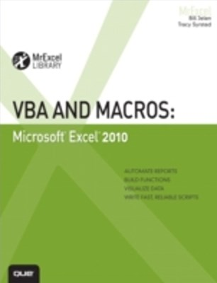 (ebook) VBA and Macros
