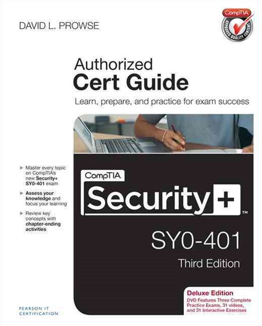 CompTIA Security+ SY0-401 Cert Guide