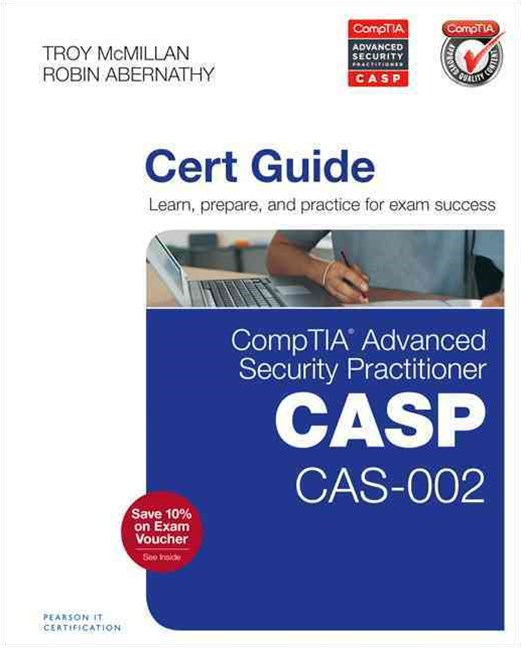 CompTIA Advanced Security Practitioner (CASP) CAS-002