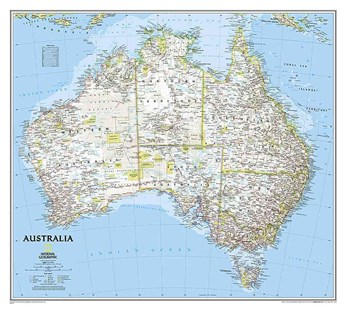 Australia by National Geographic Maps (9780792280996) - PaperBack - Travel Maps & Street Directories