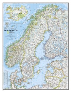 Scandinavia by National Geographic Maps (9780792292678) - PaperBack - Reference Atlases