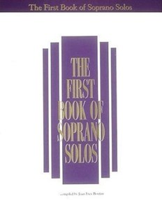 The First Book of Soprano Solos by Joan Frey Boytim, Joan Frey Boytim (9780793503643) - PaperBack - Entertainment Music General