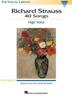 Songs of Richard Strauss by Richard Strauss, Richard Walters, Laura Ward (9780793529353) - PaperBack - Entertainment Music General