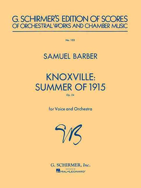 Knoxville Summer 1915