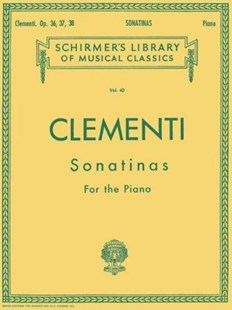 Twelve Sonatinas Opus 36, Opus 37, Opus 38 for the Piano by Muzio Clementi, Louis Koehler (9780793551736) - PaperBack - Entertainment Music General