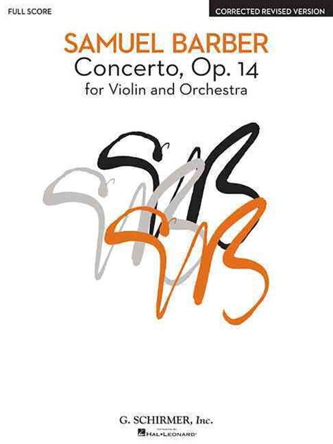 Concerto for Violin and Orchestra Opus 14