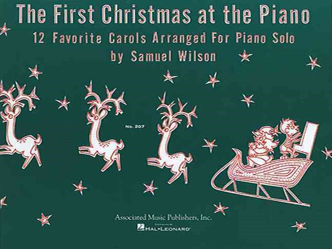 First Christmas at the Piano