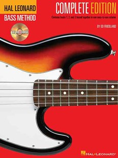 Hal Leonard Bass Method by Ed Friedland, Ed Friedland (9780793563838) - PaperBack - Entertainment Music Technique