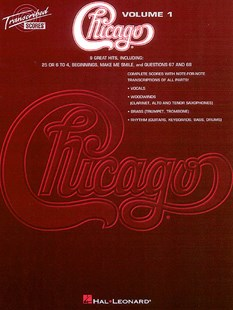 Chicago - Transcribed Scores by Chicago, Chicago (9780793570645) - PaperBack - Entertainment Music General