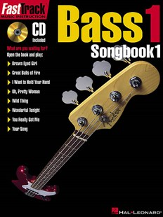 Bass I Songbook by Hal Leonard Publishing Corporation (9780793574155) - PaperBack - Entertainment Music Technique