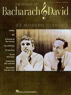 Songs of Bacharach and David by Burt Bacharach, Hal Leonard Publishing Corporation, Hal David (9780793598397) - PaperBack - Entertainment Music General