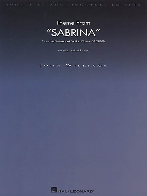 Theme from Sabrina for Solo Violin and Piano