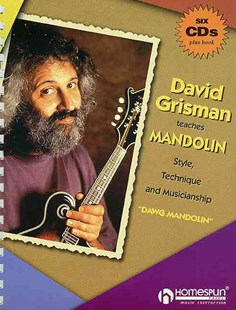 David Grisman Teaches Mandolin by David Grisman (9780793599530) - PaperBack - Entertainment Music Technique