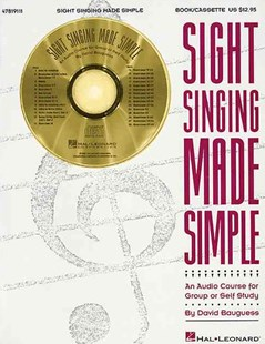 Sight Singing Made Simple by David Bauguess, David Bauguess (9780793599738) - PaperBack - Entertainment Music Technique