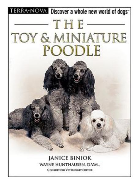 The Toy and Miniature Poodle