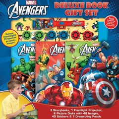 Marvel Avengers Deluxe Book Gift Set