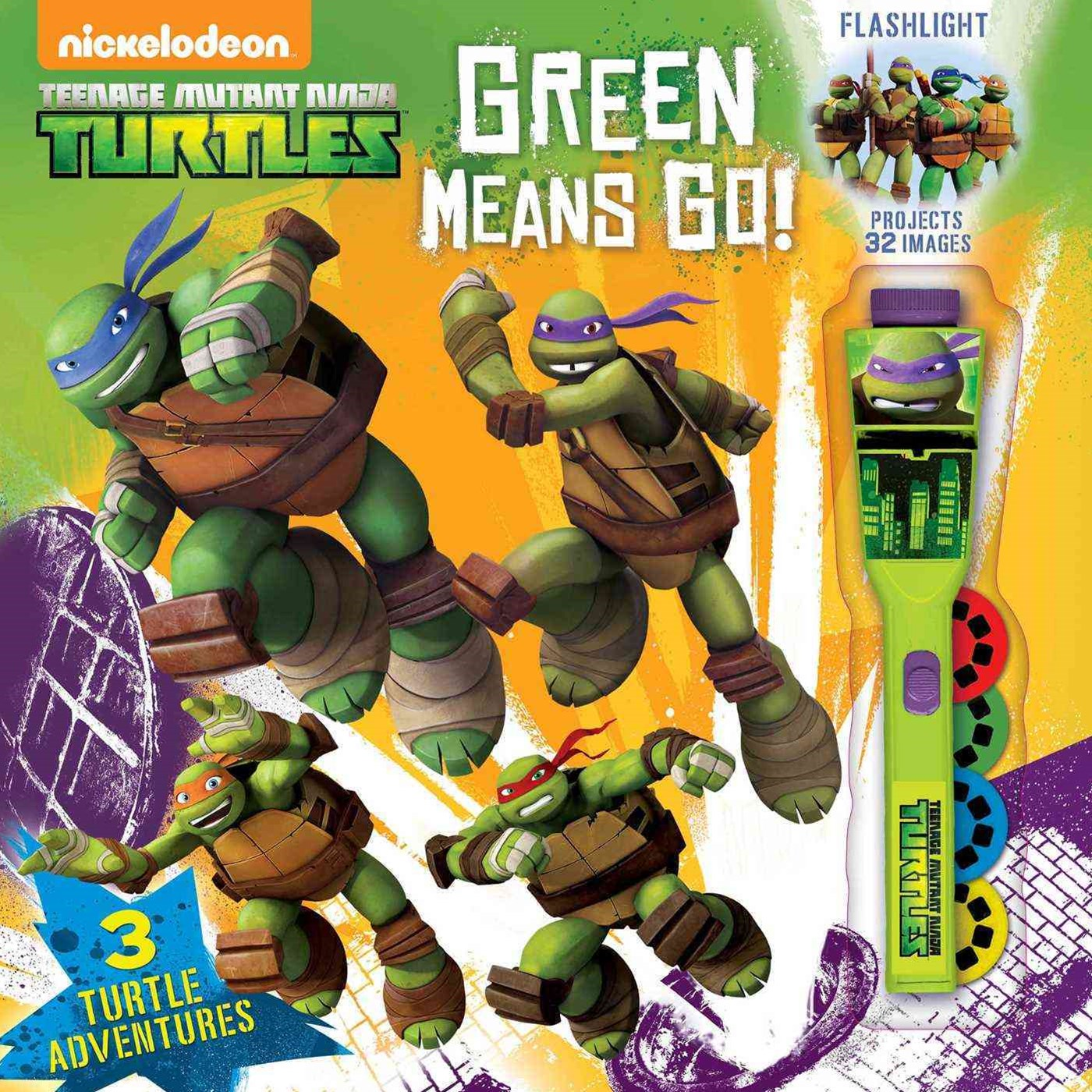 Teenage Mutant Ninja Turtles Green Team